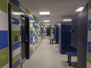 New Locker Rooms