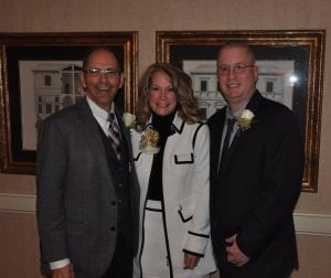 Wally Hart, Terri Easterly, Dr. Erik Wert